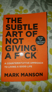 "Book ""The Subtle Art of Not Giving a F*ck"""