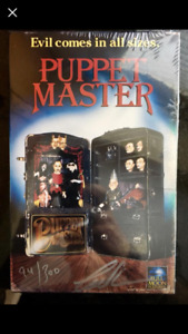 PUPPET MASTER New Signed and Numbered Box Set