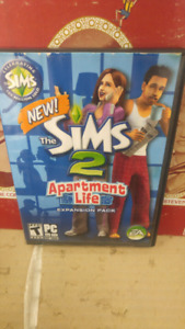 Pc game the sims appartment life