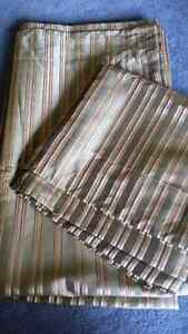 2 panels rod pocket style 56 x96 inches each panel