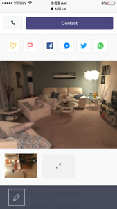 Three bedroom townhouse sublet for November 1st