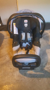 Britax Chaperone car seat and base