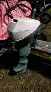 1972 9.5hp outboard motor *parts motor* Windsor Region Ontario image 1