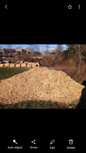 hardwood mulch. 19 cubic meters. Delivered. 1 load only