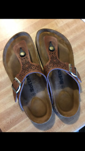 Brand new soft moc women sandals