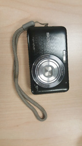 Sony Cyber Shot Camera And Case