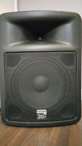 PA System Active Loudspeakers plus Mixer