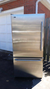 Stainless steel fridge (can deliver)