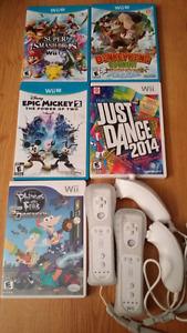 Wii U, Wii Games & Controllers