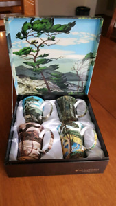 Group of Seven Gift Box Set of Mugs/Tea Cups