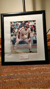 Pete Rose signed photo, autograph authenticated