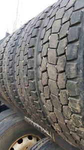 24.5 summer tires set of eight