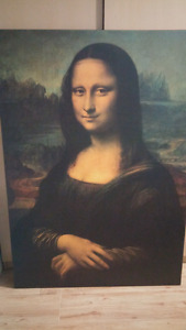 Mona Lisa (large canvas)