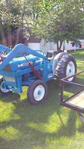 ford 3000 tractor loader