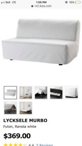 Ikea heavy duty lycksele murbo futon