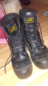Nats CSA approved steel toe boots