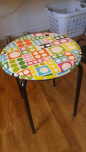 Tabouret et coussin IKEA Stool with cushion