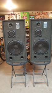 Audio Tech floor speakers