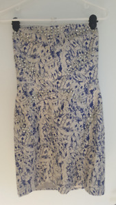 REDUCED! Armani Exchange - Strapless showstopper dress! Size 6