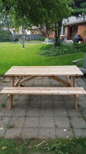 Small Custom Carpentry Projects - Picnic Tables, Deck, Fence... London Ontario image 9