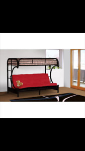 Bunk bed for sale. Double futon/twin