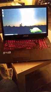 ASUS RoG gaming laptop - portable gamer asus republic of gamers