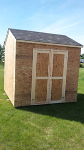Storage sheds built to suit your needs.