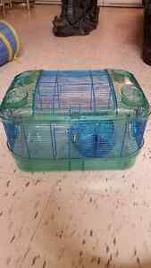Blue hamster cage for sell :)