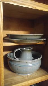 Ensemble poterie vaisselle