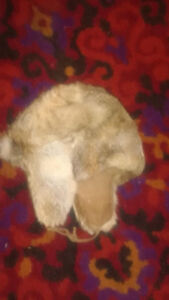 Real Foxskin Trappers cap