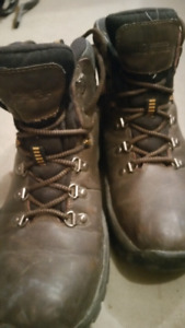 Leather boots size 8 mens