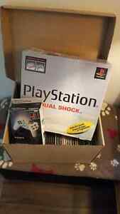 Original Playstation with games