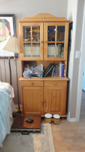 SOLID PINE HUTCH FOR SALE