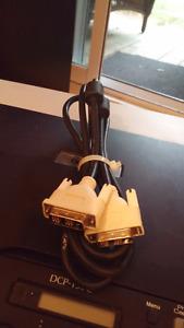 Cable Dvi VS DVI 6 pieds