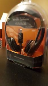 NEW - Plantronics Audio 655 USB Multimedia Headset