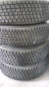 Bridgestone Blizzak winter tires 155 80/ R13