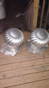 "two 10"" turbine vents"