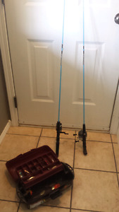 FISHING RODS / TACKLE