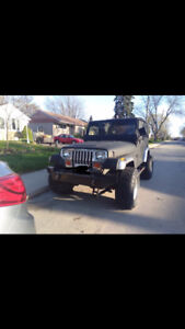 Lowered price! 1989 Jeep YJ- BRAND NEW 33s