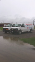 RV water damage on site repair. Greater Shediac Area