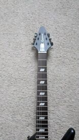 Epiphone Explorer GT 'Worn Black' - As New Condition - Case Included