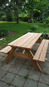 Small Custom Carpentry Projects - Picnic Tables, Deck, Fence... London Ontario image 8