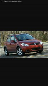 Looking for a 2008 2009 suzuki sx4 for parts or repair