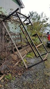 Pickup Ladder Rack / Support pour echelle camion