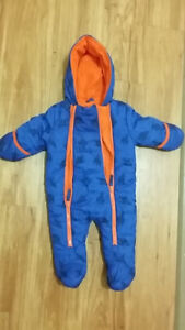 Wippette Baby Boys snowsuit - Size 6-9M