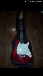 Electric guitar peavey raptor