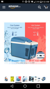 Brand new in box portable fridge /electric cooler