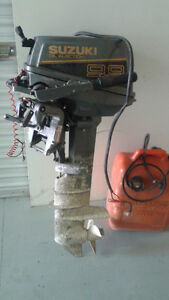 Suzuki long shaft 10 hp motor for sale