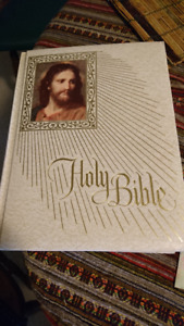 HOLY BIBLE 1974-1975 edition printed in U.S