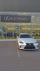 2017 Lexus IS 200 Turbo - RWD - Pearl White